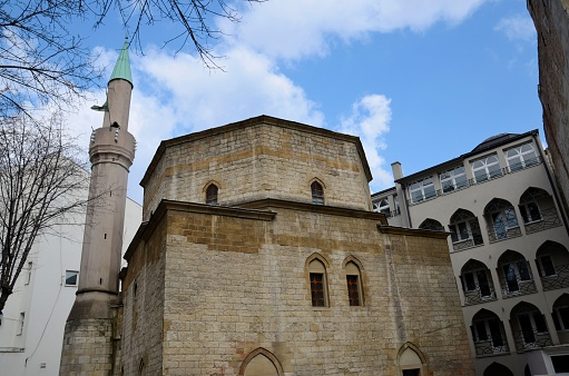 Мечеть Байракли, в Белграде