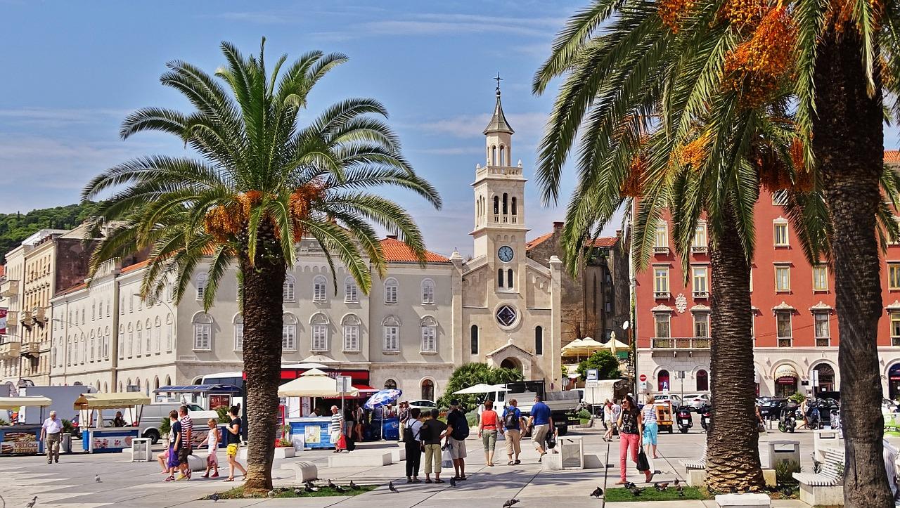 Город-курорт Сплит, Хорватия