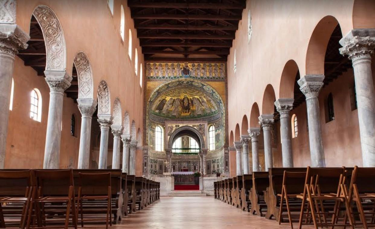 Ефразиева базилика, Пореч