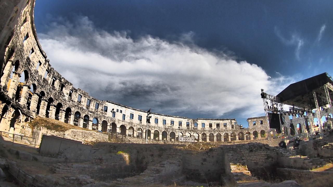 Амфитеатр Пулы — символ Истрии