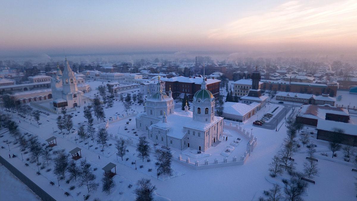 Новый год в Сибири