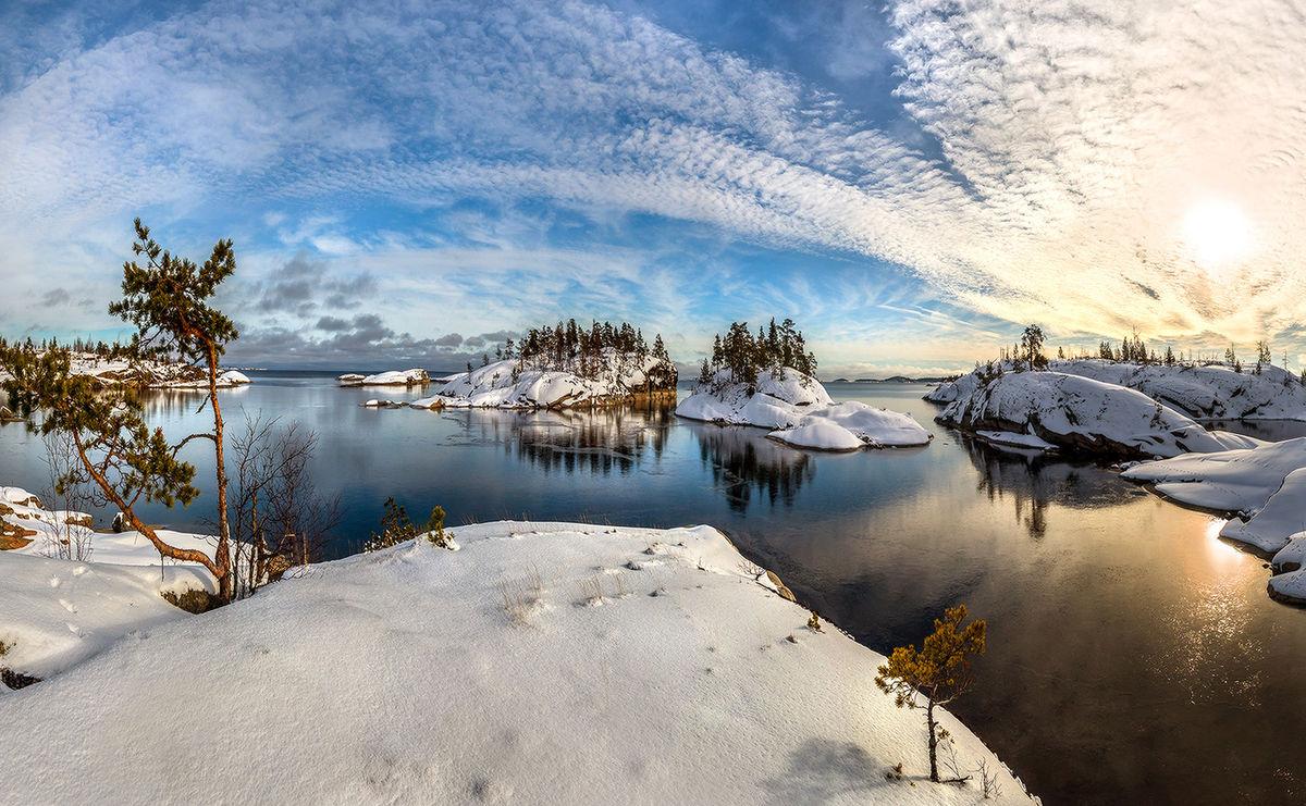Отдых в Карелии в декабре