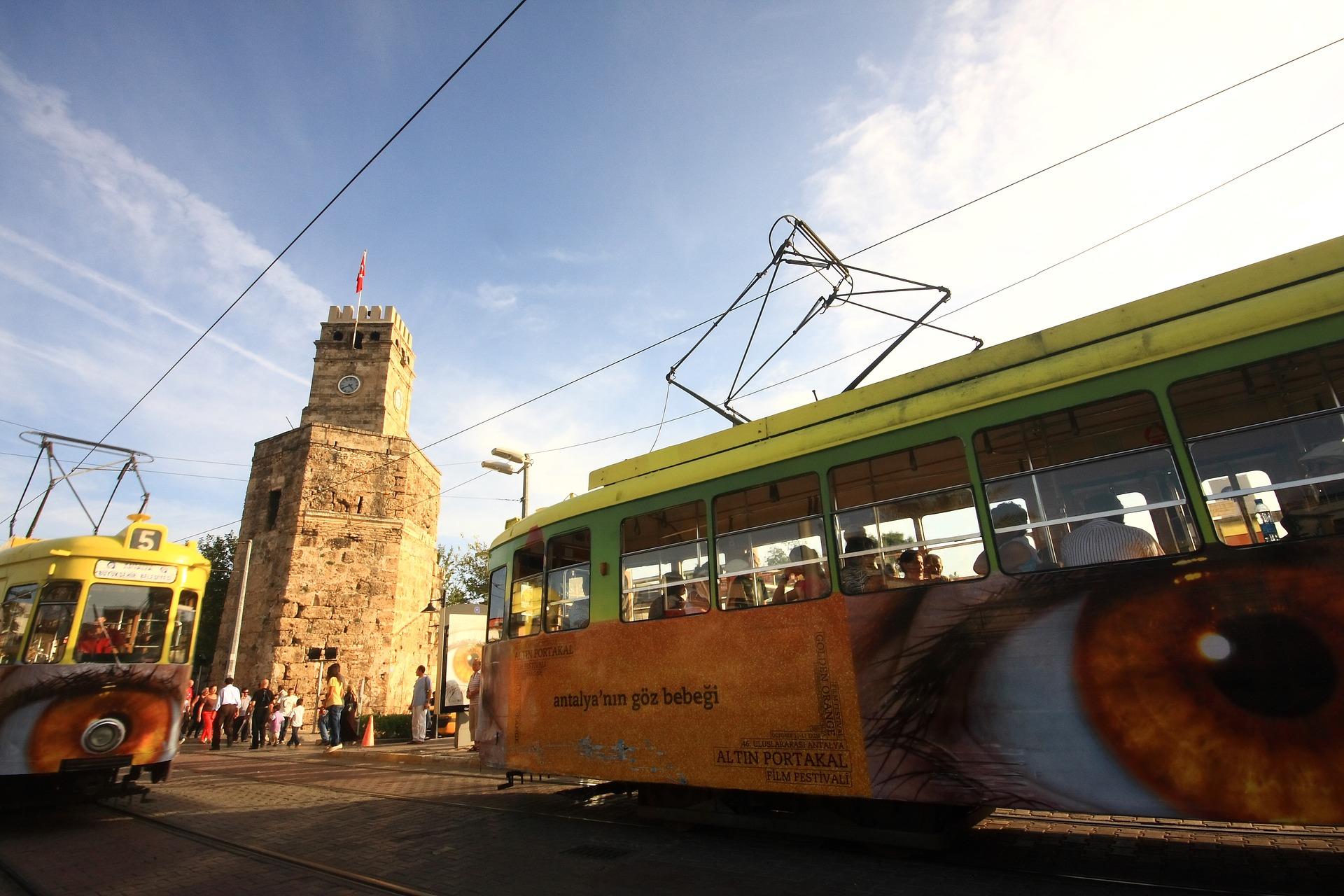 Общественный транспорт Антальи