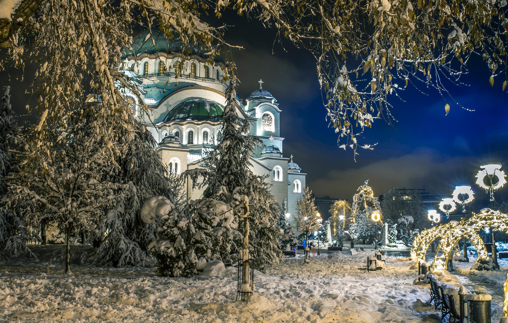 Сербия на Новый год